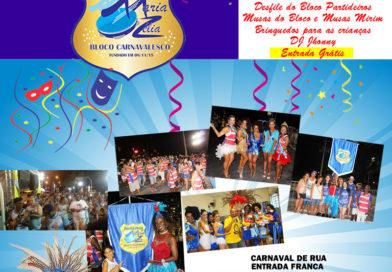 11/ 02 – Carnaval de rua com o Bloco Partideiros do Maria Zélia